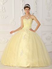 Daffodil Sweetheart 2014 Top Designer Quinceanera Dress