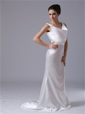 Professional V-Neck Silk Like Satin Mermaid Event Evening Dress Sample Dress