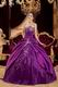 Cheap Purple Embroidery Dress Make Your Own Quinceanera
