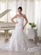 Designer Bridal Dresses Ready To Wear With Mermaid Layers Skirt Low Price