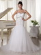 Designer Lists Wedding Dress With Spaghetti Straps Trumpt Skirt Low Price