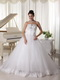 Strapless A-line Puffy Skirt Wedding Dress For Bride Wear Low Price