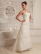 Lace and Organza Wedding Dress Manufacturer For Custom Made Low Price