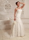 Top Seller Handcrafted Flower Customize Wedding Dress With Lace Low Price