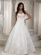 Elegant Floor-length Ivory Wedding Dress With Lace Decorate Low Price