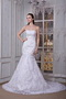 Strapless Button Back Lace Mermaid Boutiques Wedding Dress Perfect Low Price