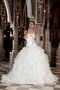 Ruffles Ball Gown Floor Length 2014 New Arrival Wedding Dress Low Price