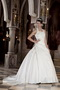 Modest Ball Gown Halter Wedding Bridal Dress With Puffy Skirt Low Price