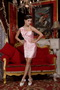 Baby Pink Column One Shoulder Mini-length Homecoming Dresses Knee Length Sexy