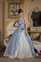 Light Blue And Light Yellow Ball Gown Sweetheart Quinceanera Dress Like Princess
