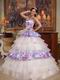 Spaghetti Straps Top Designer Lovely Quinceanera Dress