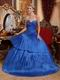 Royal Blue Quinceanera Dress To 2012 Winter Quinceanera Party