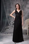 Not Expensive Cross Back V Prom Dress Made By Black Lace Inexpensive