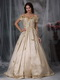 Off The Shoulder Champagne Taffeta Prom Gowns Dress Inexpensive