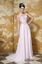 2014 Stylish Empire Sweetheart Chiffon Prom Dress Light Pink Inexpensive