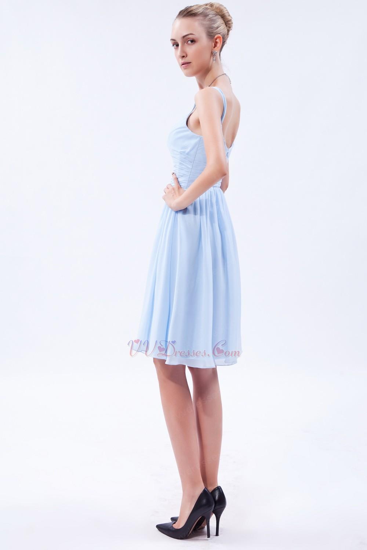 Square baby blue short bridesmaid dress under 100 dollars ombrellifo Images
