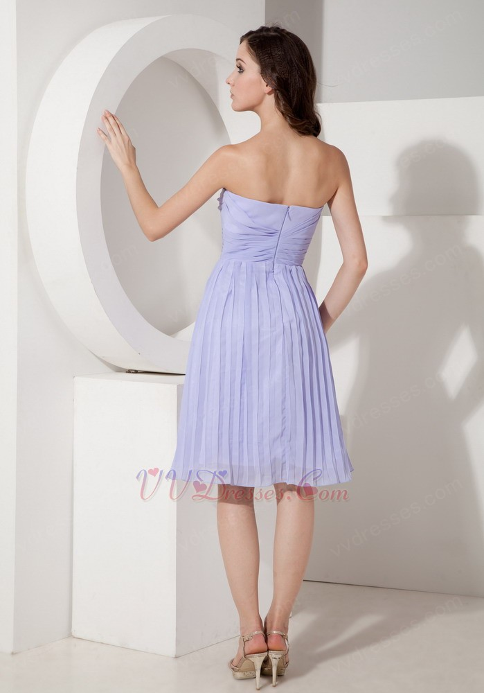 Elegant Lavender Girl Bridesmaid Dress Under 100 Pounds