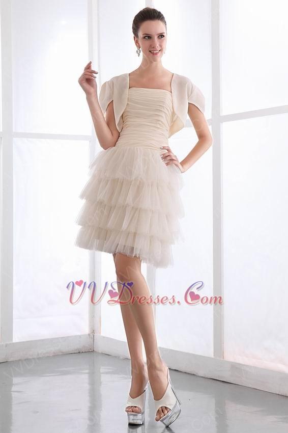 Cream Color Prom Dresses - Plus Size Dresses