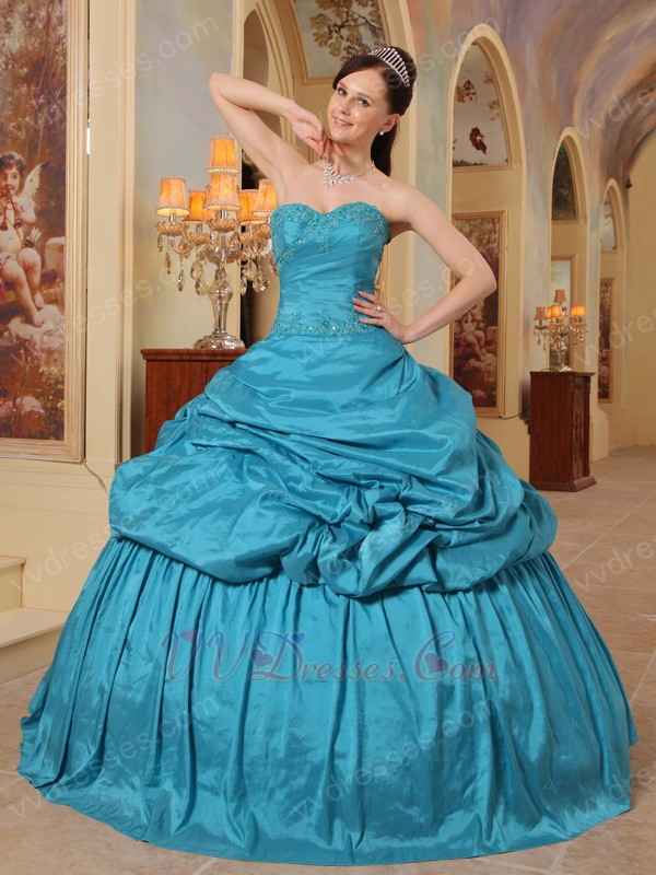 White And Blue Quinceanera Dresses 2014