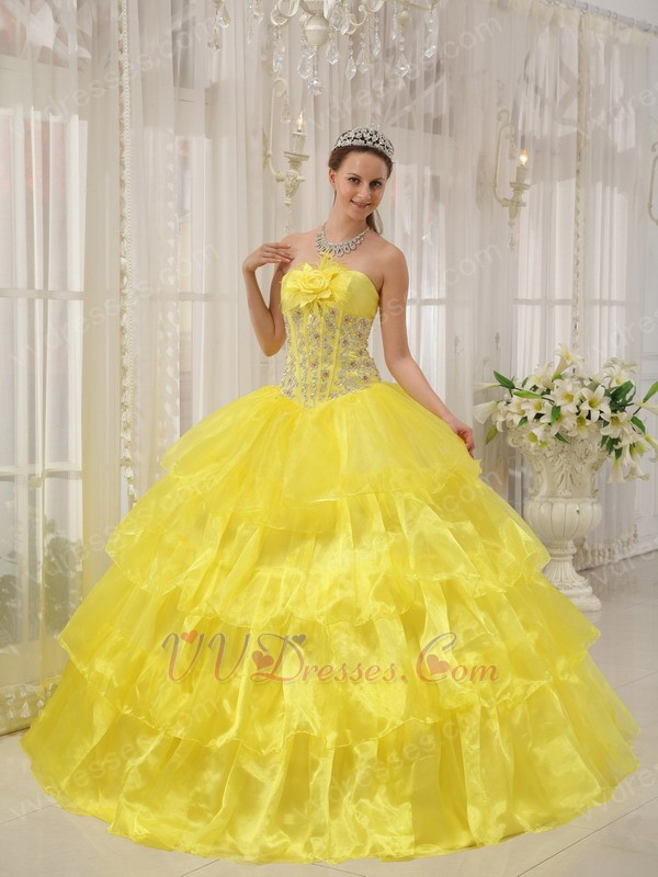 Neon yellow wedding dress – Dress ideas