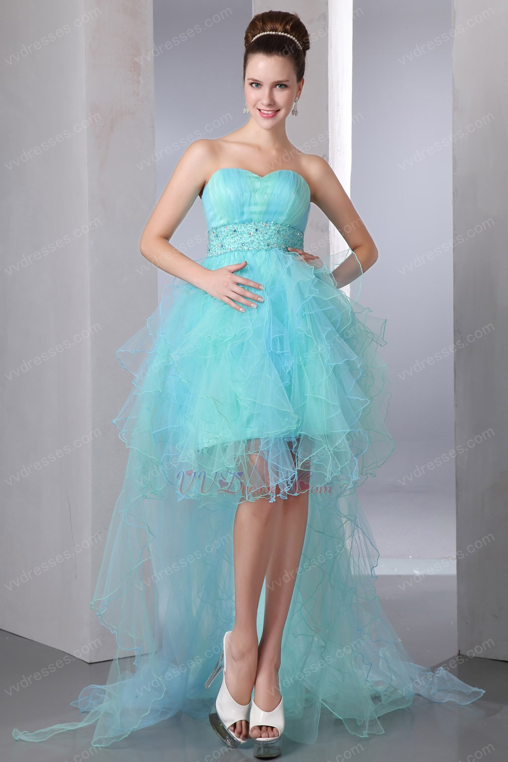 Pretty Blue Prom Dresses
