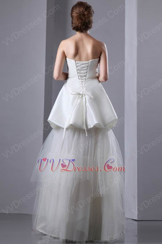 wedding dresses beautiful v shaped strapless corset make your own