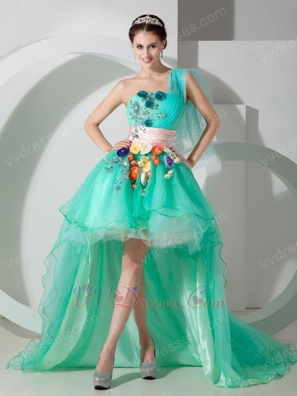 Aqua Colored Prom Dresses