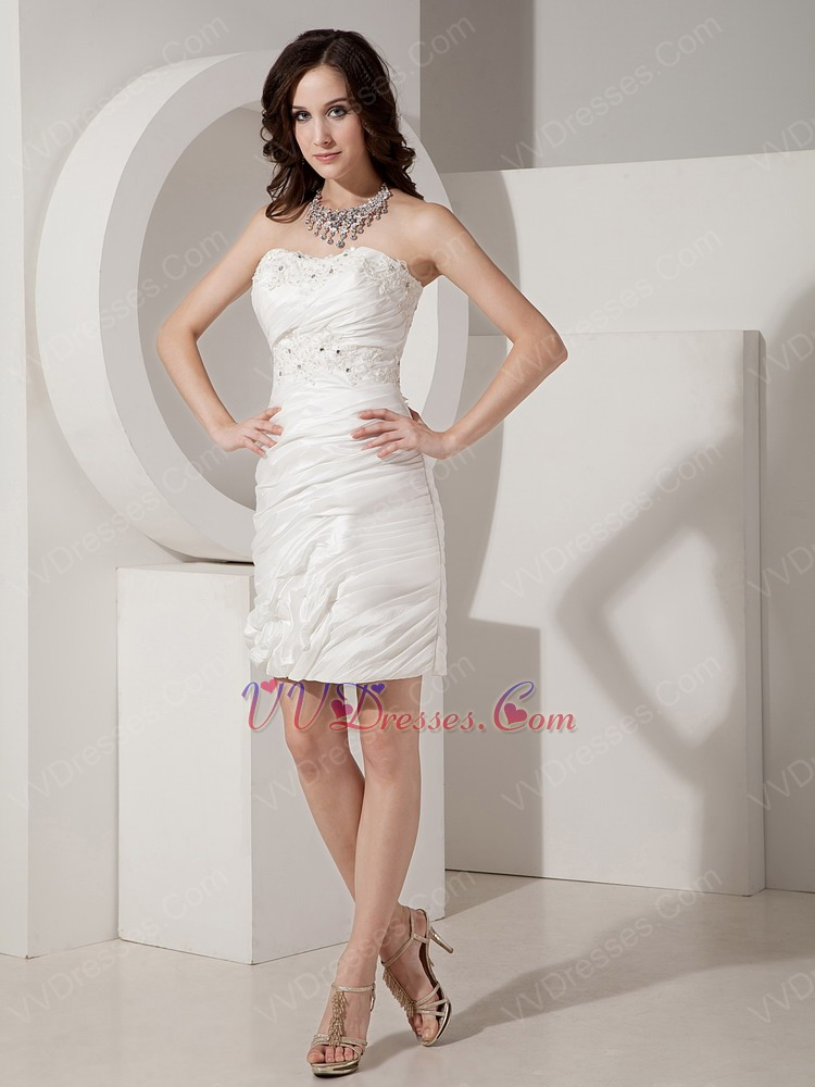 Awesome Cream Short Prom Dresses Pattern - Wedding Dress Ideas ...