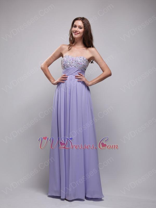 lavender color dress - photo #7