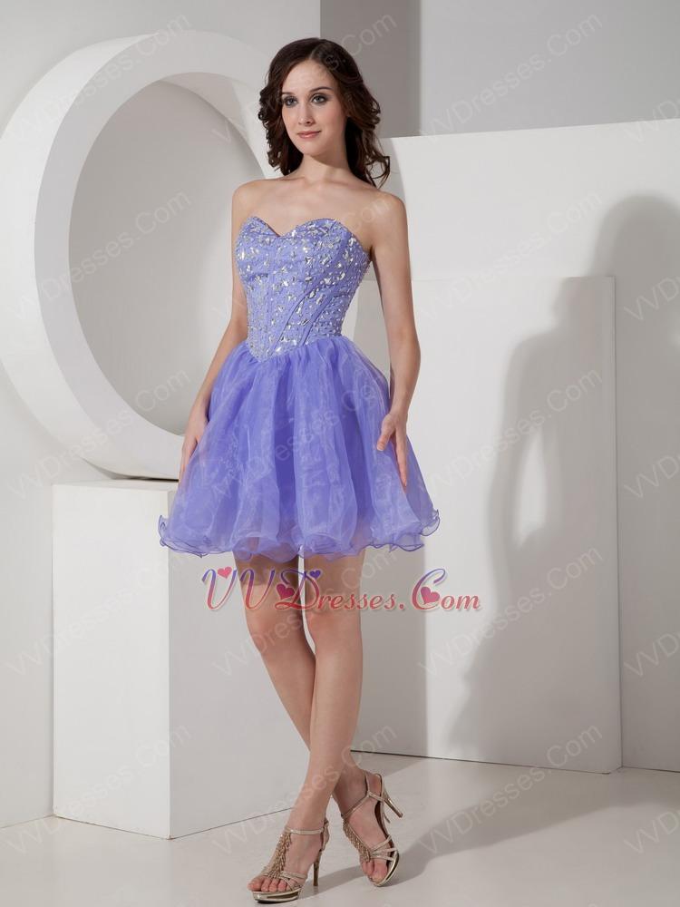 lavender color dress - photo #21
