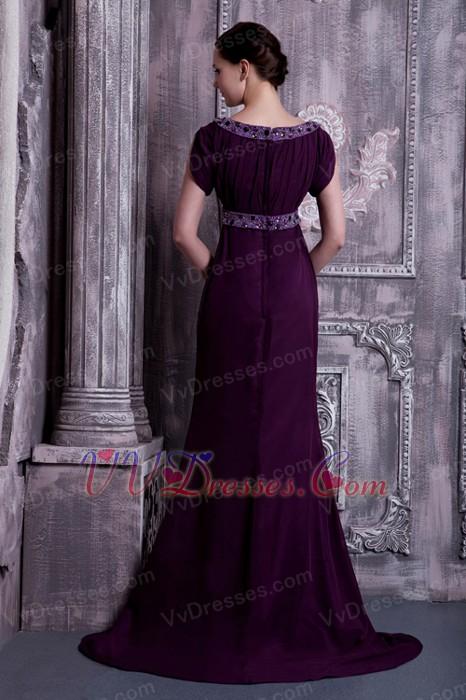 Mother Of The Bride Dresses Dark Purple 15
