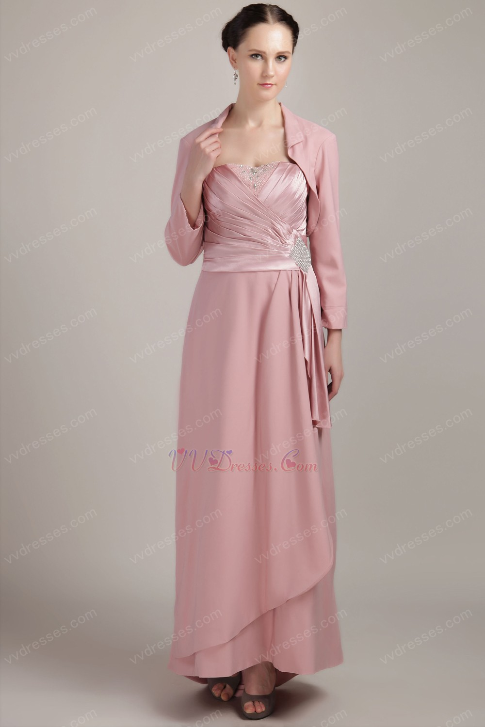 Lite Pink Mother of the Bride Dresses