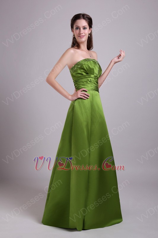 Green color dresses