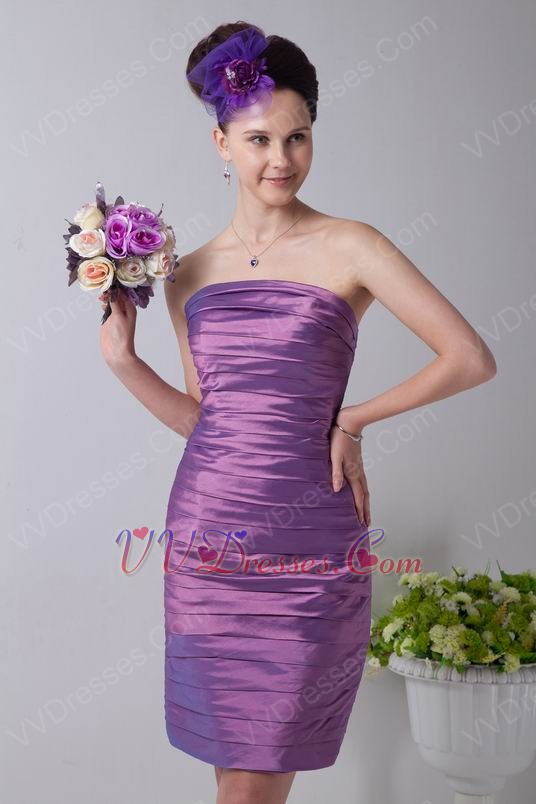Plum Color Junior Bridesmaid Dresses 29