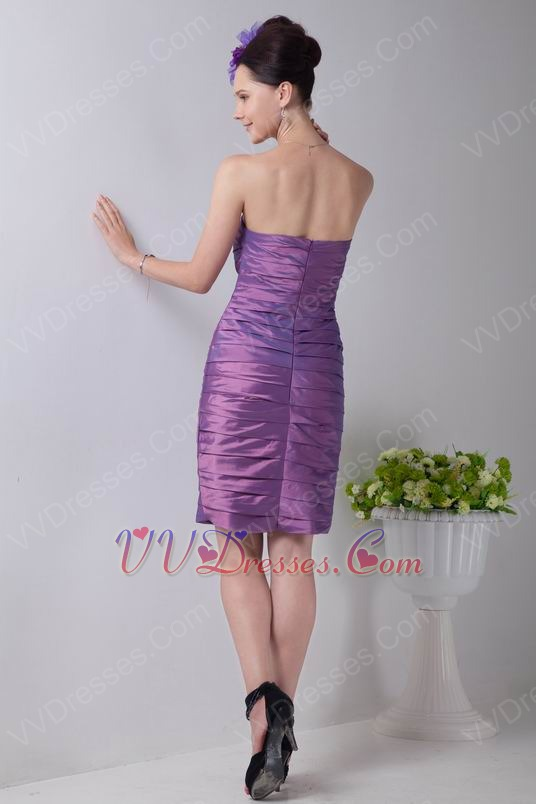 Plum Color Junior Bridesmaid Dresses 61