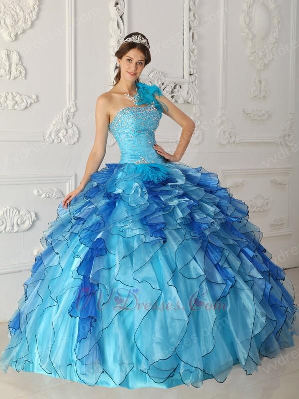 Quinceanera Dress Winter Wonderland