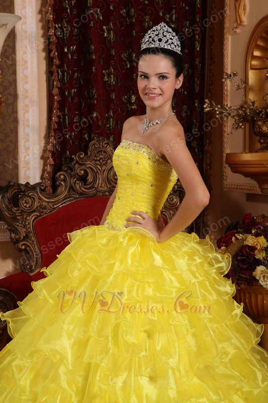 Where to buy a yellow dress