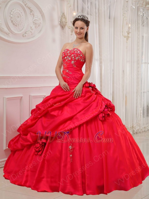 Images of Sweetheart Neckline Red Dress - Best easter gift ever