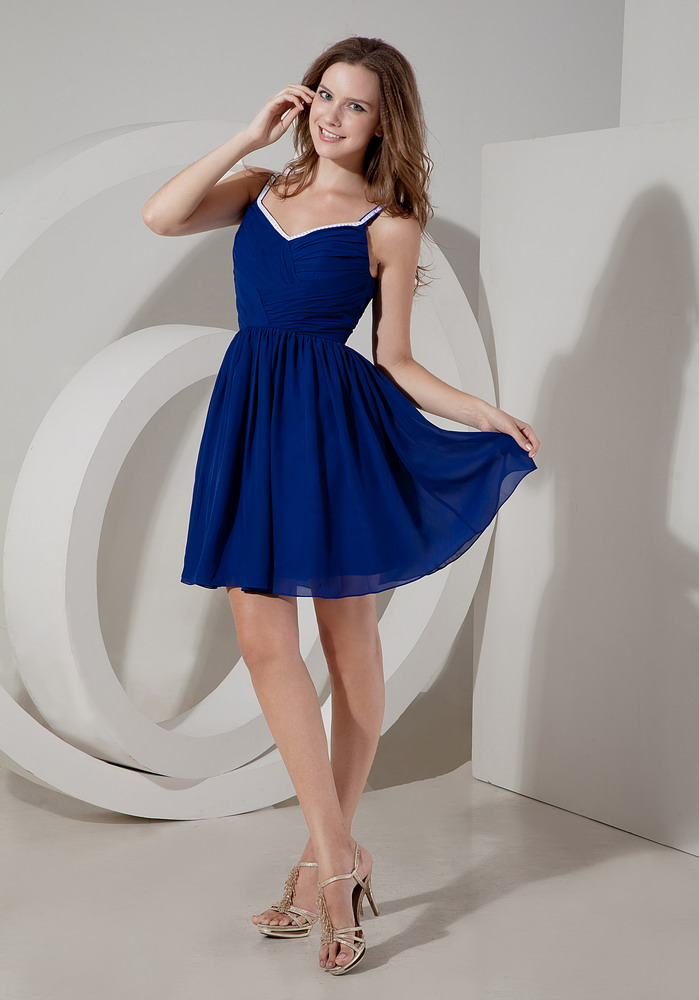 Blue Dress For Wedding Party Bridesmaid Dress
