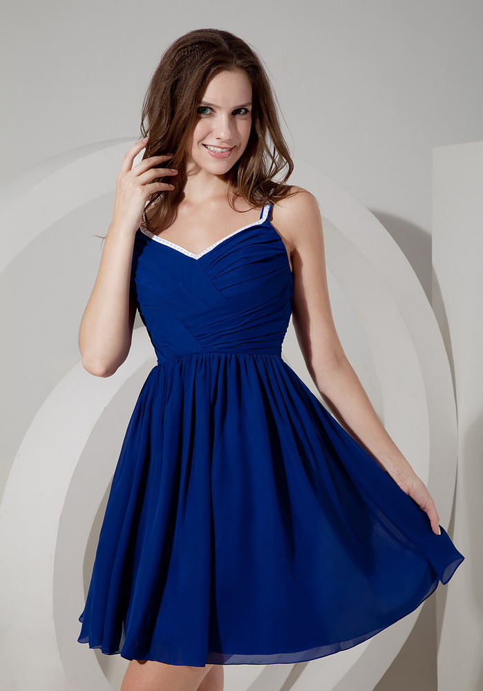 Wedding Dress With Royal Blue Color : Royal blue dress for wedding party bridesmaid