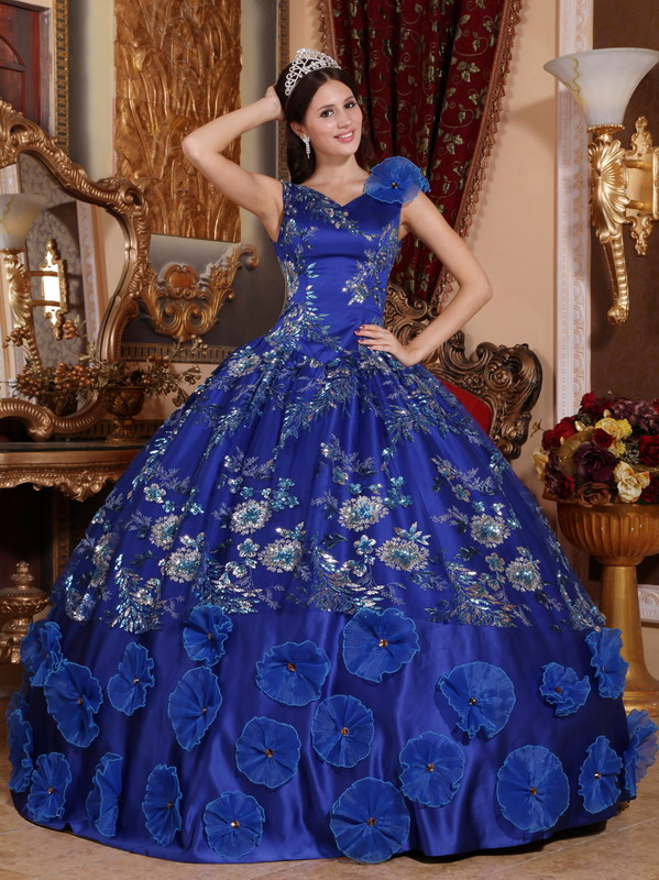 Sweet 15 dresses blue and purple 2017