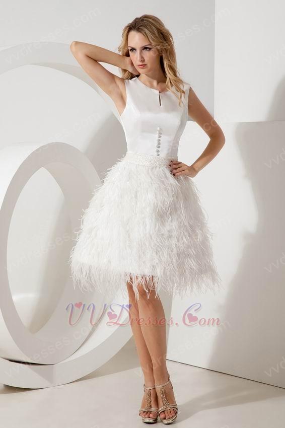 Short White Sweet 16 Dresses