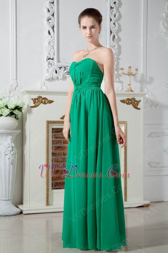 Sweetheart Bright Turquoise Prom Party Dress With Criss Cross