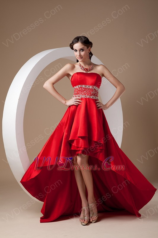 low Style New Fashion Wine Red Prom Dress Cheap