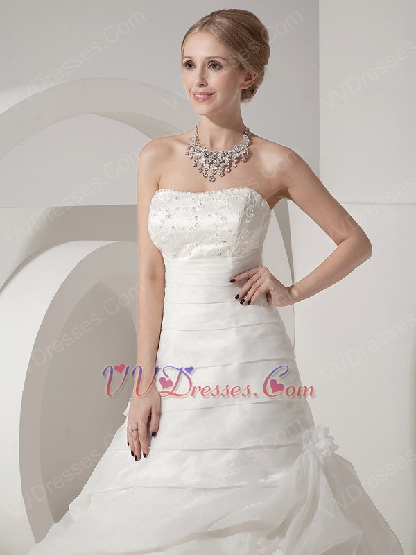 Western lace wedding dress - photo#24